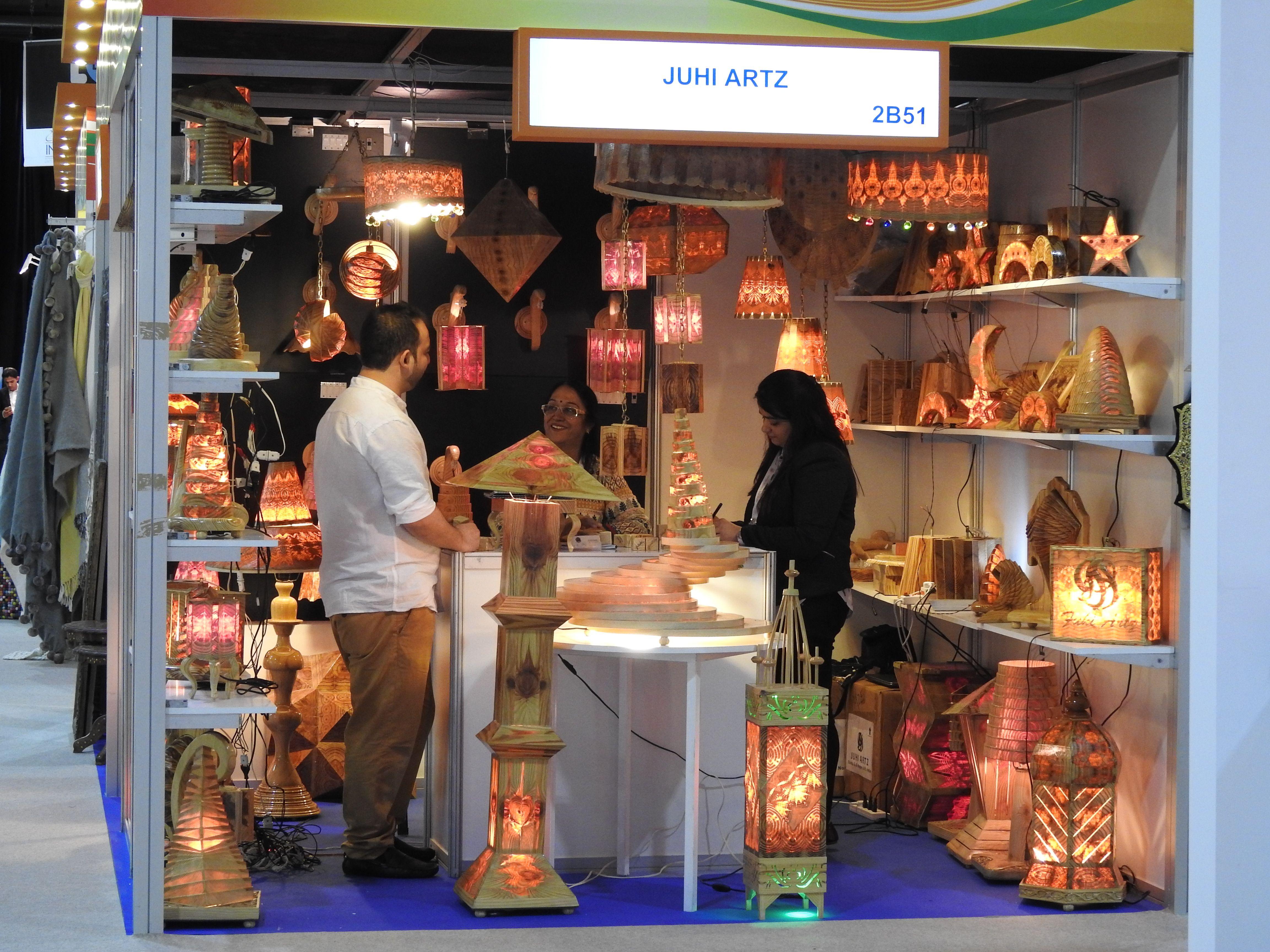 Promotion of indian handicrafts at index 2015 for International decor uae