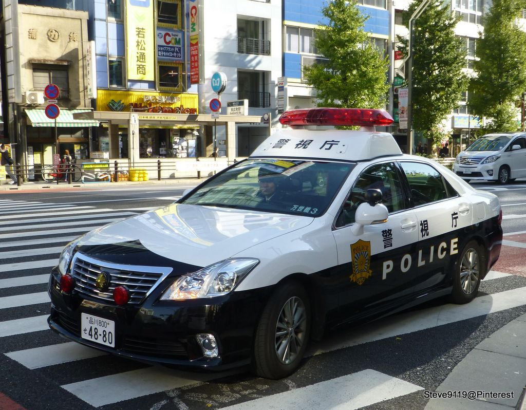 Police @ Tokyo, Japan | パトカー, 警察