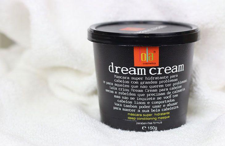 Resenha Mascara Hidratante Capilar Dream Cream Lola Cosmeticos