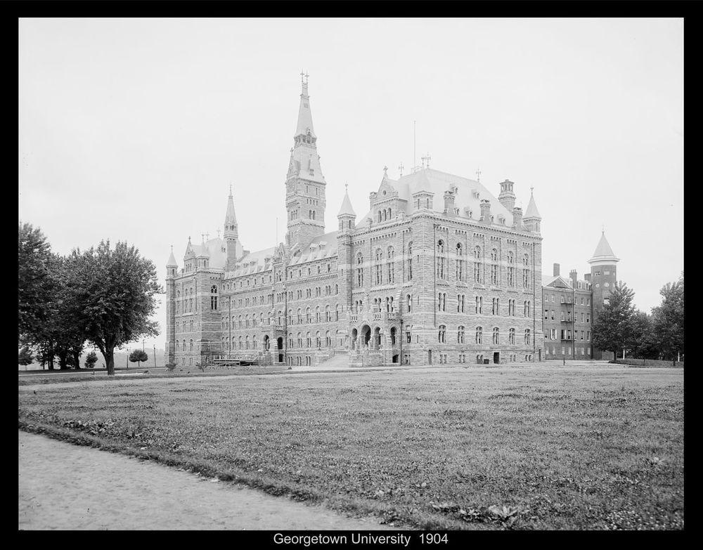 1904 Georgetown University Washington D C Photo Print 14 X10 America Georgetown University Georgetown Today In History