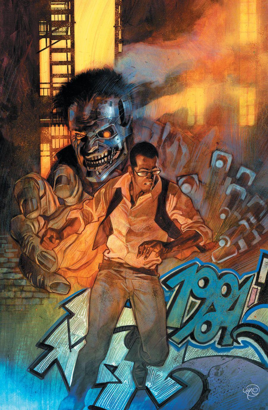 The Terminator 2029 Cover Art By Massimo Carnevale Comic Geek Art 5