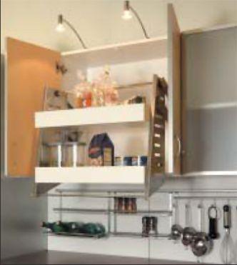 pull down shelf | Kitchen shelves, Shelves, Cool kitchen ...