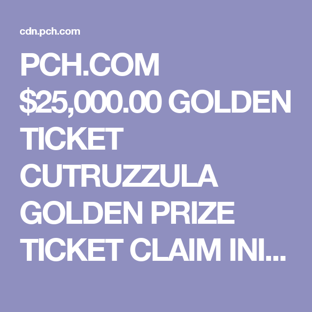 Pch giveaway 8184