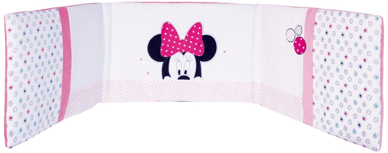 Babycalin Disney Tour De Lit 40X180 Cm Minnie Patchwork