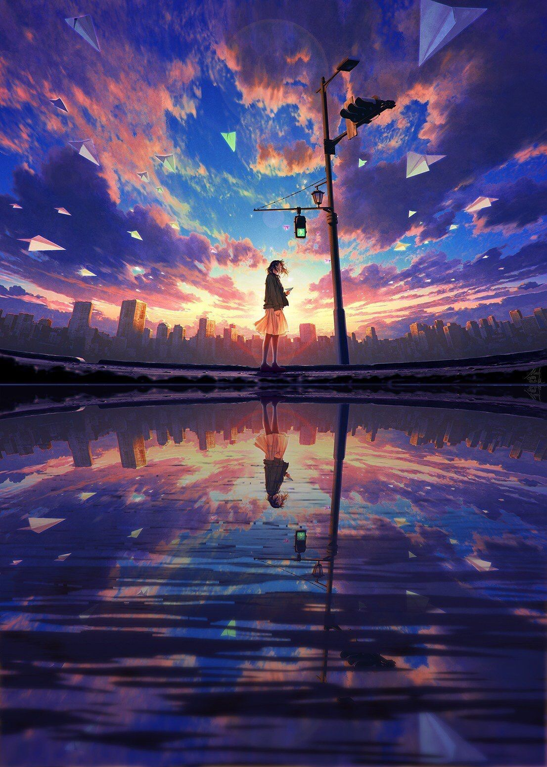 Idea By Rutali Thurr On Anime Wallpapers In 2020 Anime Scenery Wallpaper Anime Scenery Scenery Wallpaper
