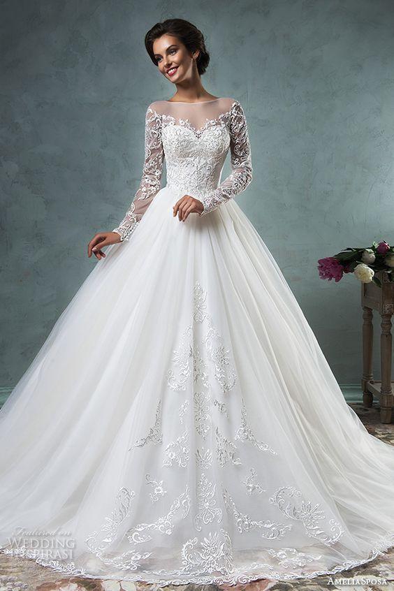 Свадебные платья с рукавами | платье | Pinterest