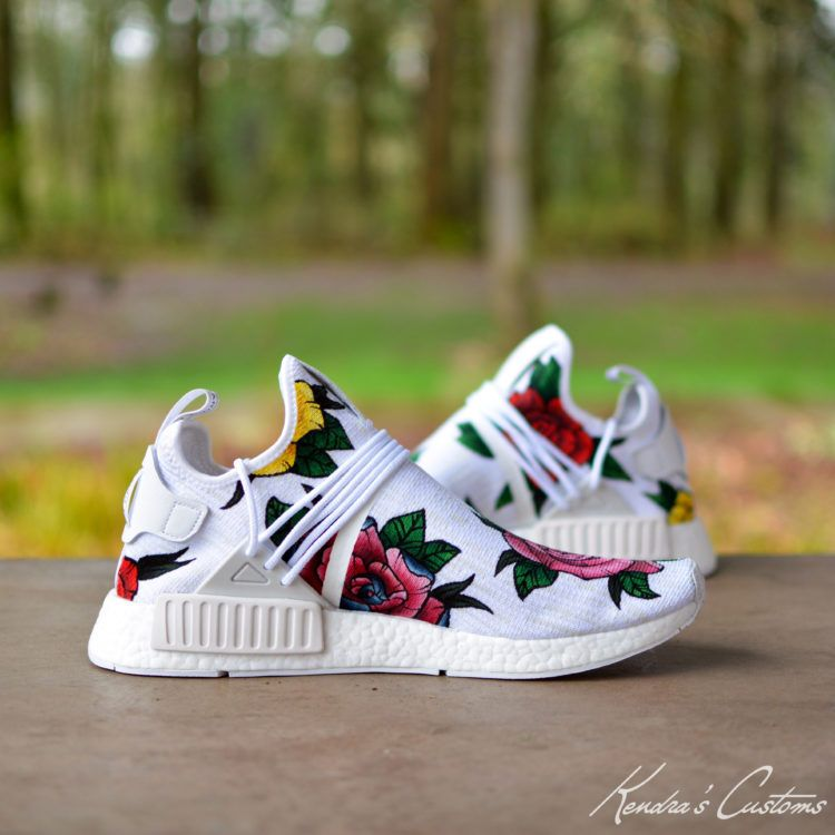 Kendras Customs Brings Pharrell Vibes to New NMD Custom  252e9a490