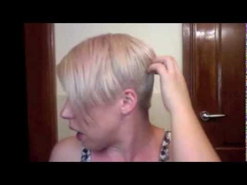 Pixie cut to messy half up 90s inspired hair tutorial youtube so i have noticed there are almost no hair extension videos for us gals with very short hair so here is how i rock extensions and how i make it so pmusecretfo Image collections