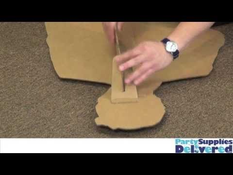How To Put Together A Cardboard Standup Cardboard Cutouts Diy Cardboard Standup Cardboard Cutout