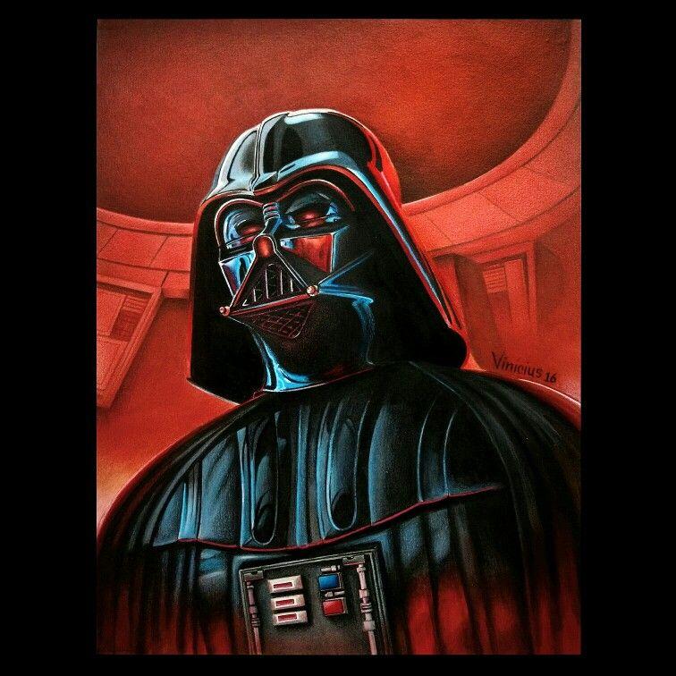 Darth Vader, #viniciusrafaellemos #drawing #desenho #lapisdecor #starwars #darthvader #drawingrealistic #desenhorealista
