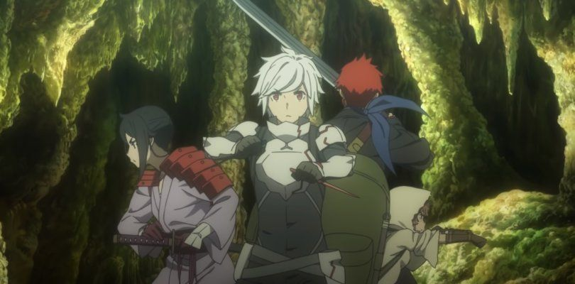 10 Best Anime Where The Mc Is Weak But Will Turn Badass Danmachi Anime Anime Dungeon Ni Deai