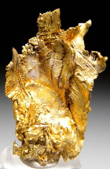Gold from Round Mountain Mine, Nye Co., Nevada, USA