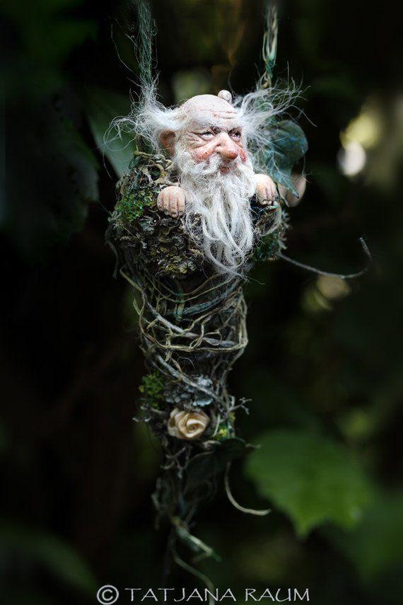 Monsieur Winnibert handmade decoration whimsical gnom   Etsy