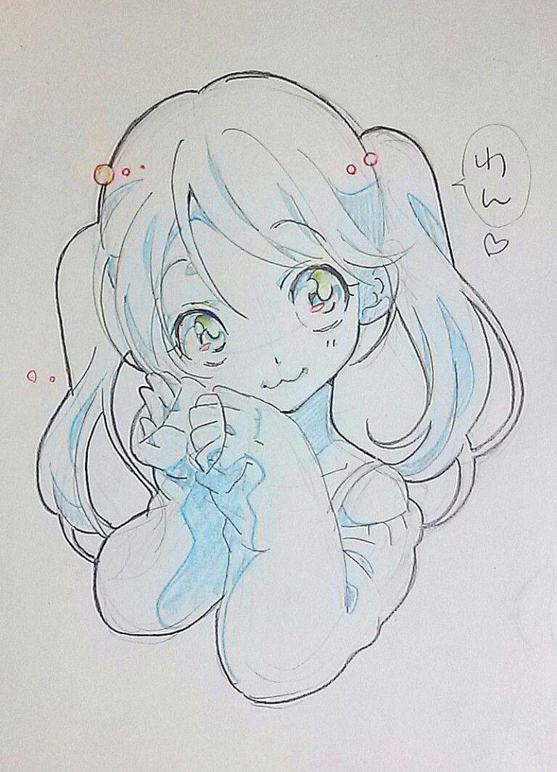 Fille Manga 4 Mỹ Thuật Anime Y Tưởng Vẽ