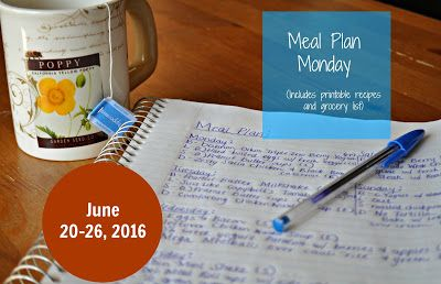 Darcie's Dishes: Meal Plan Monday: 6/20-6/26/16 ~ A seven day meal plan that includes all meals, drinks and snacks. The meal plan is printable and has a printable companion shopping list as well. Everything on this meal plan is 100% Trim Healthy Mama compliant.