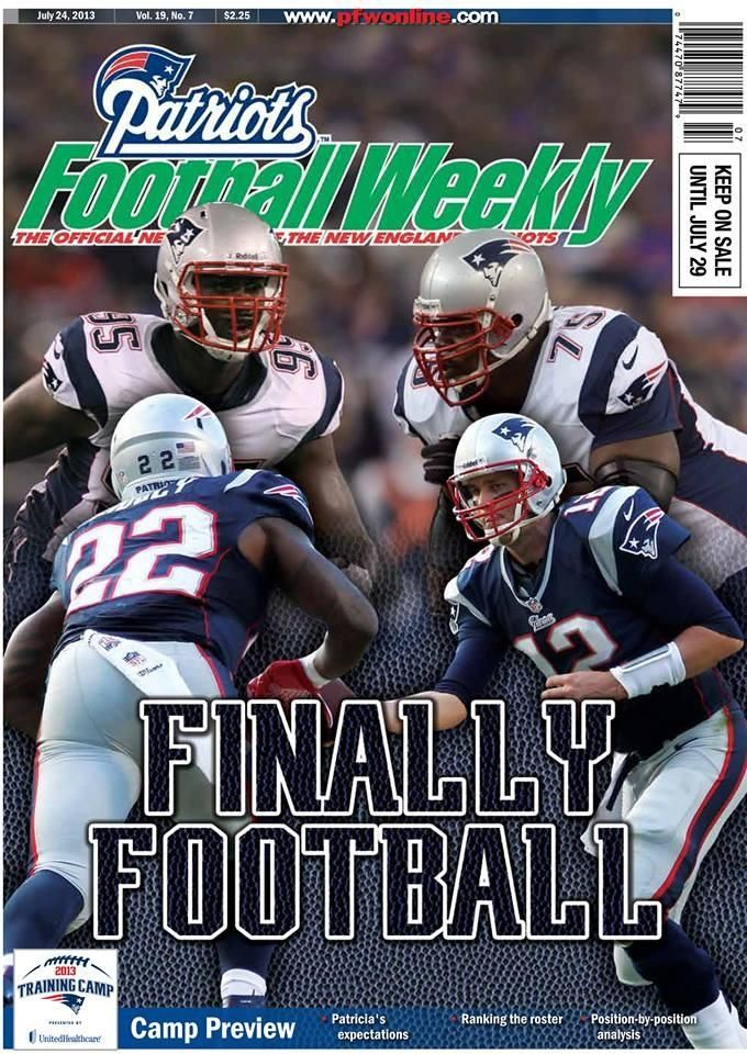 Patriots football weekly