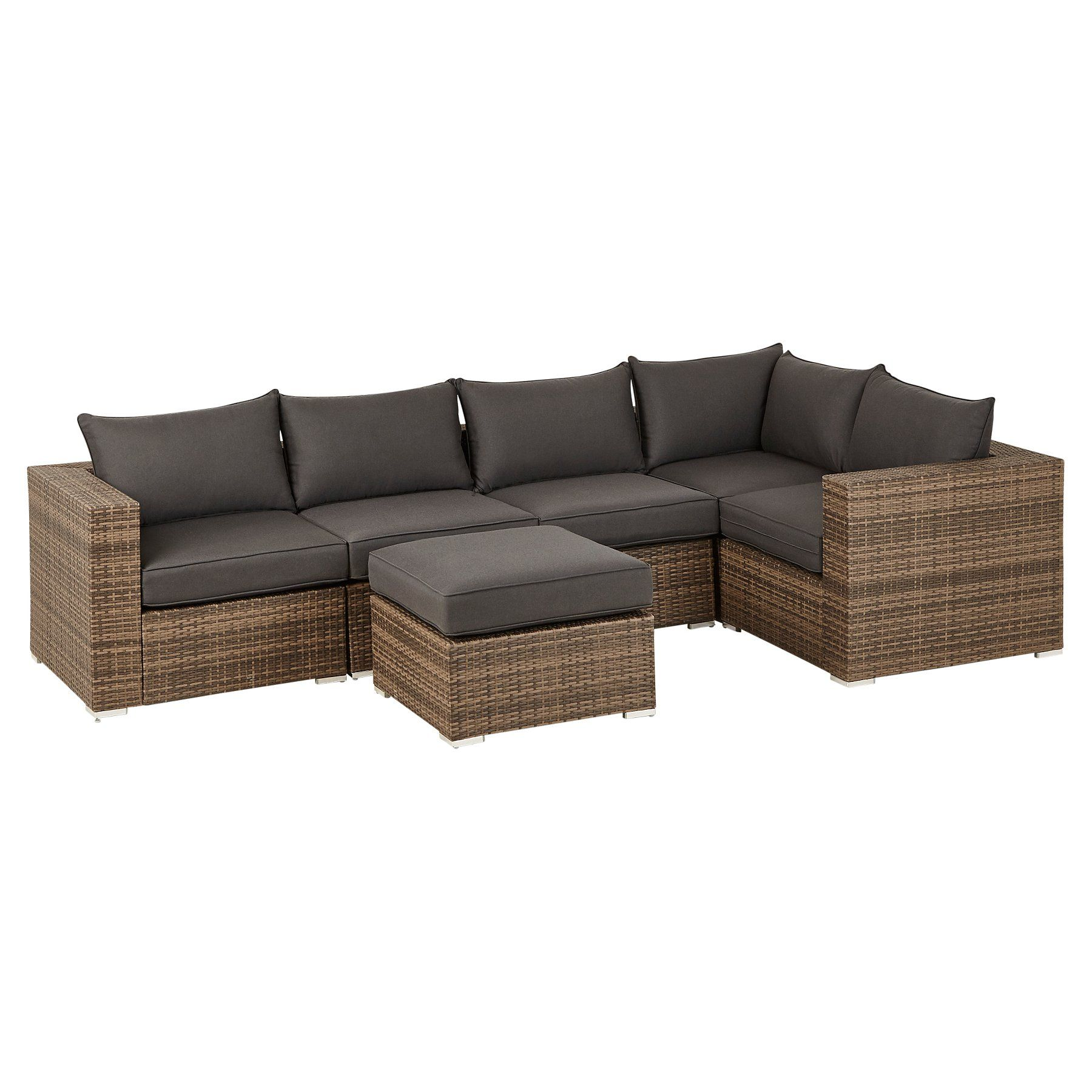 Borneo Corner Group Sofa  Outdoor & Garden  George  Garden sofa