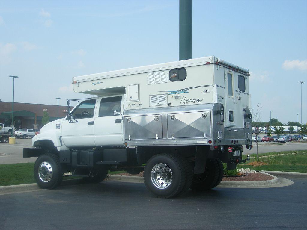Notrhstar Camper On Flat Bed Truck Heavy Duty Off Road