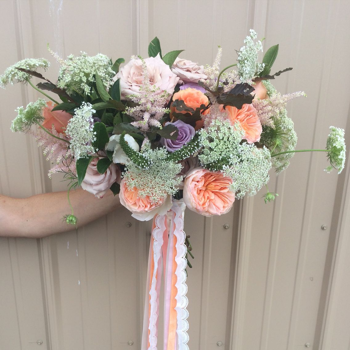 Julia's Bouquet, By Caroline Of Passiflora. 2015 (With