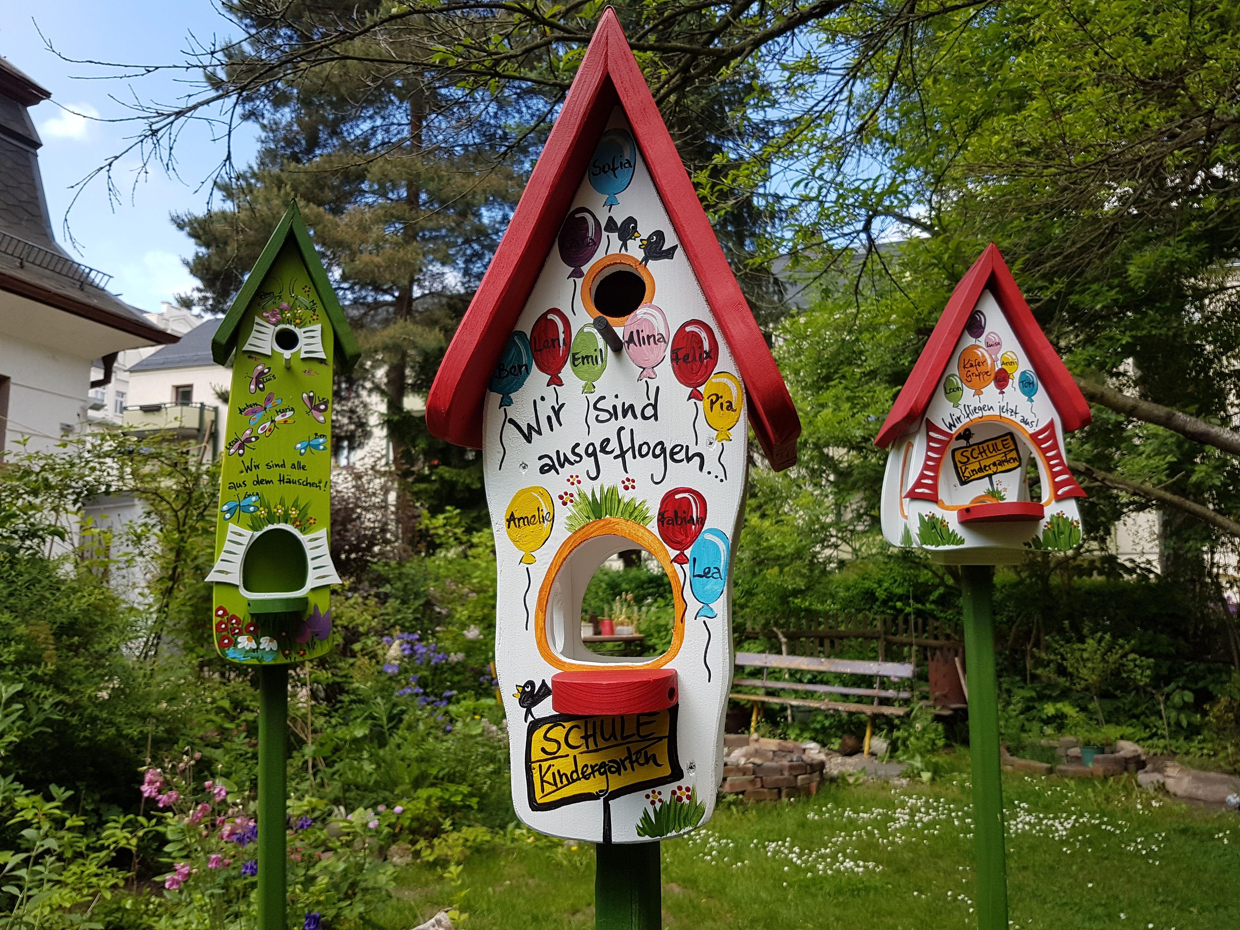 Kindergarten Abschiedsgeschenk | personalisiert mit Namen der Kinder und Sprüchen | wetterfest