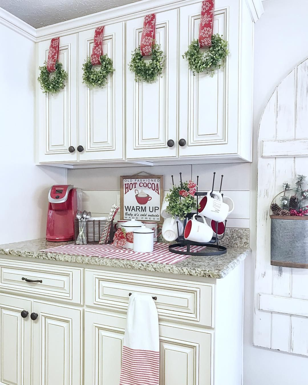 Thislittlehomeofours On Instagram Hot Cocoa Station In The