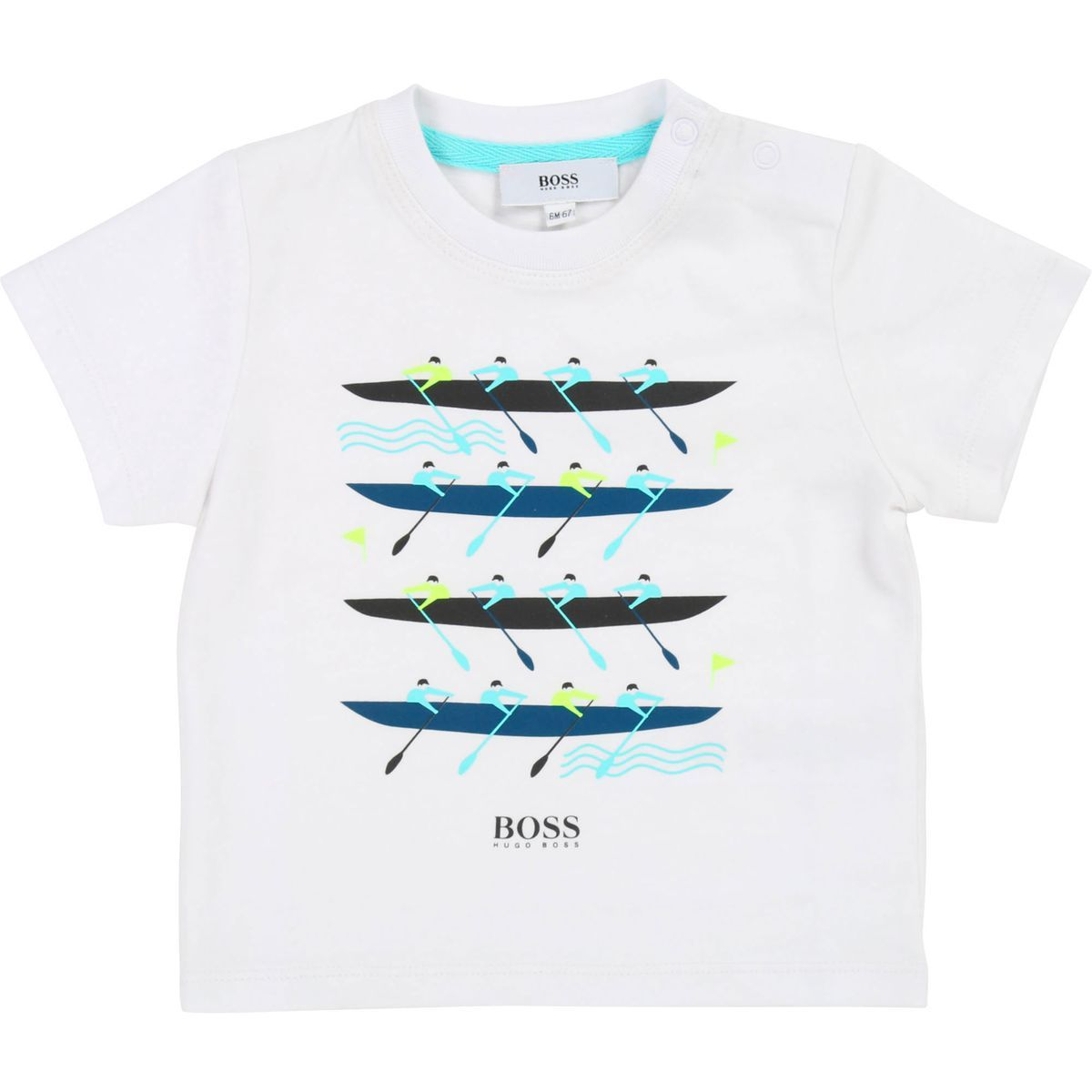 BOSS Baby Boys Tee-Shirt Manches Courtes T
