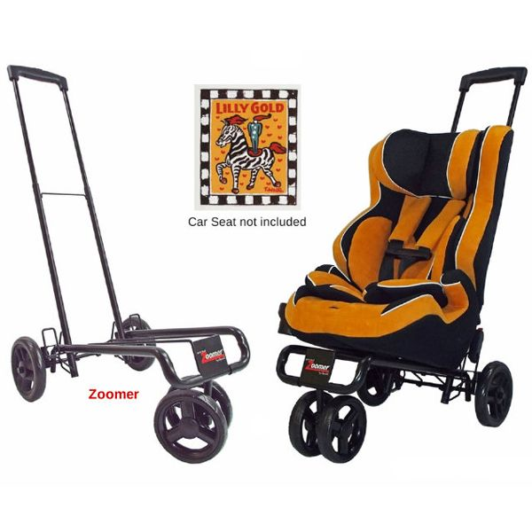Turn Any Carseat Into A Stroller Great For Big Car Seats In Airports