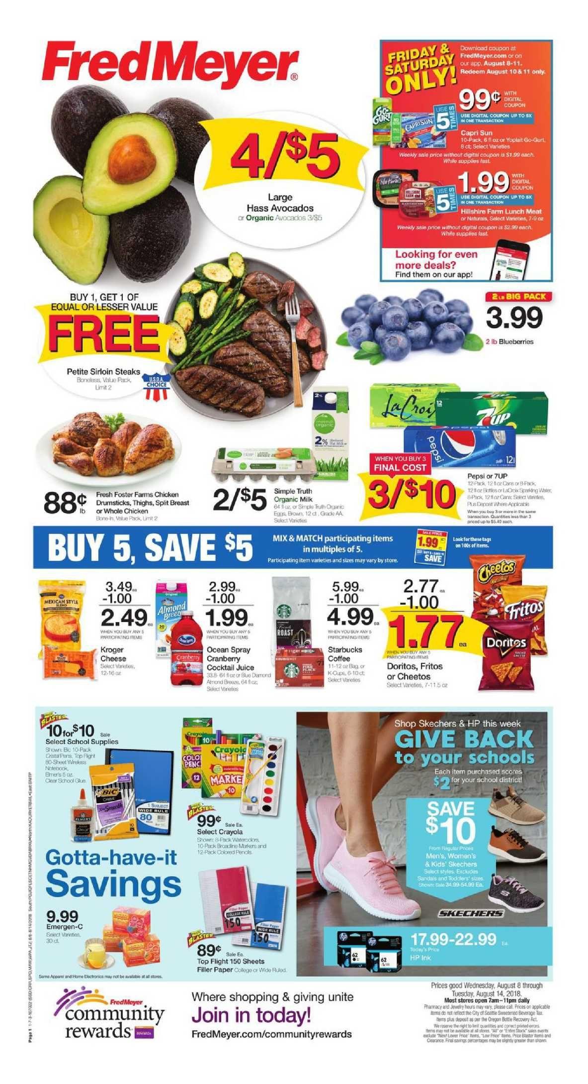 Fred Meyer Weekly Ad Flyer Mar 11 Mar 17 2020 Weekly Ads
