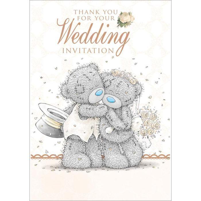 Wedding invitation acceptance me to you bear card 149 wedding wedding invitation acceptance me to you bear card 149 stopboris Gallery