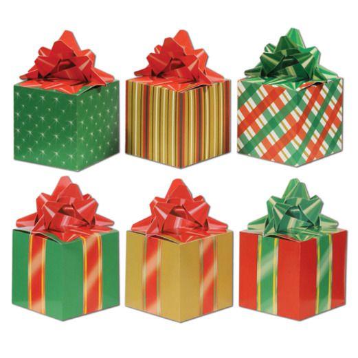 Christmas Decorations Christmas Favor Boxes Image