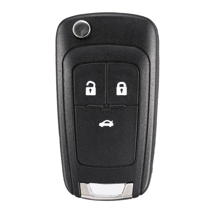 Latest 3 Buttons Remote Key Fob With Id46 Chip 434mhz For Chevrolet Cruze Aveo O