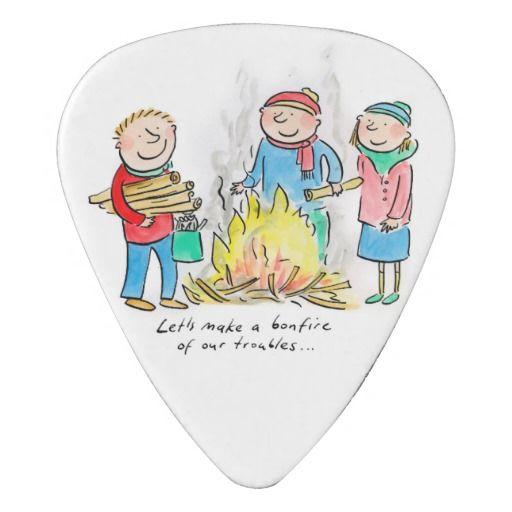 Let's make a bonfire of our troubles