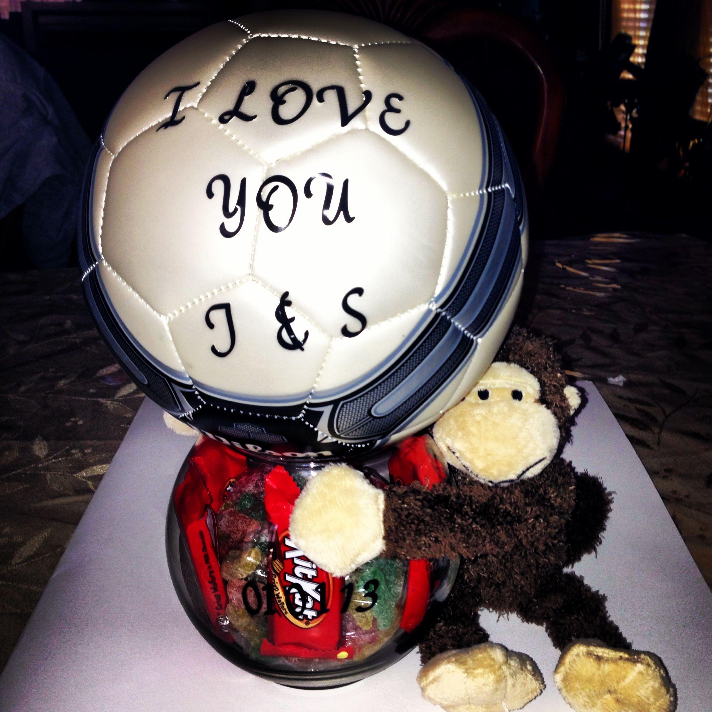 It S A Soccer Thing Diy Gifts For Boyfriend Birthday Gifts For Boyfriend Diy Valentines Day Gifts For Him Boyfriends