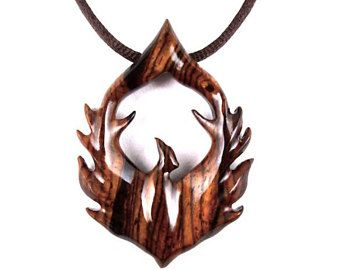 Phoenix pendant firebird necklace phoenix necklace phoenix phoenix pendant firebird necklace phoenix necklace phoenix jewelry wood phoenix necklace aloadofball Images