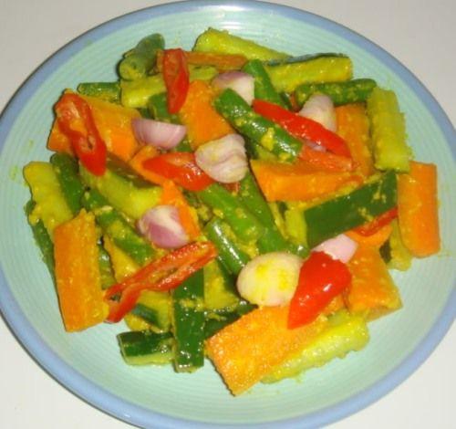 Resep Acar Kuning Dan Cara Membuat Bacaresepdulu Com Resep Resep Resep Masakan Indonesia Resep Masakan