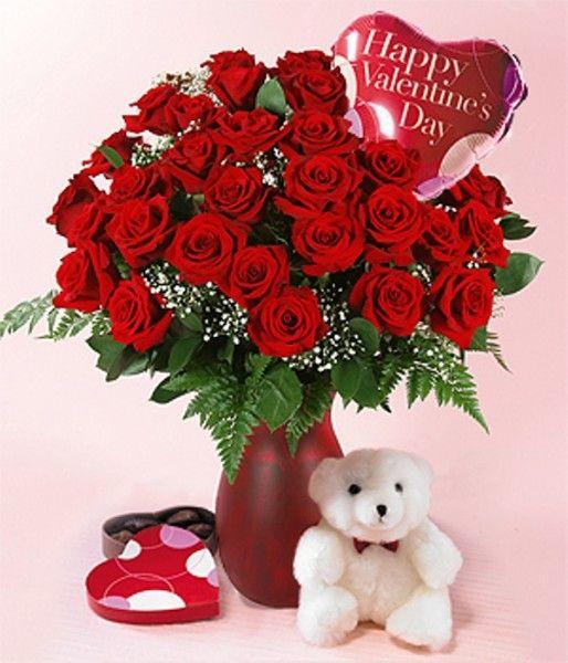 Happy Valentine Day Flowers Funyari Pinterest Valentines
