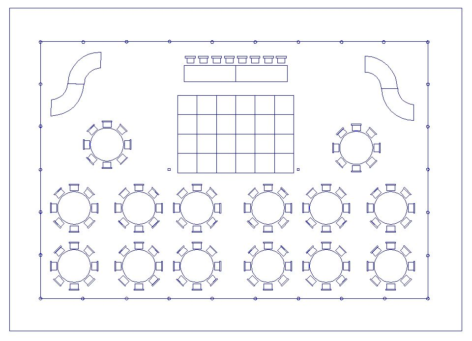 Banquet floor plan template thefloors co for Wedding floor plan