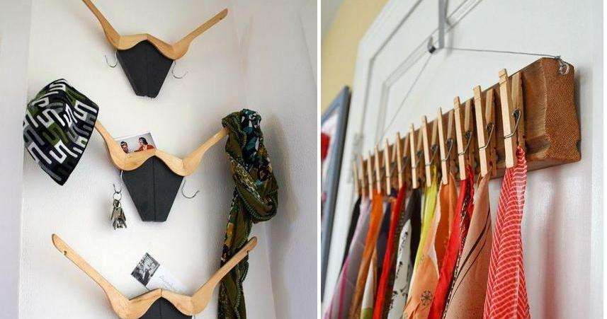 Ideas para hacer percheros muy inspiradoras ideas for Ideas creativas para el hogar