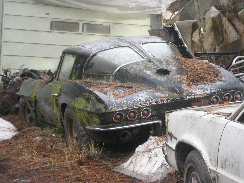 1963 Corvette Split Window Barn Find Barn Find Northwest Old Trucks For Sale Barn Find Cars Car Barn