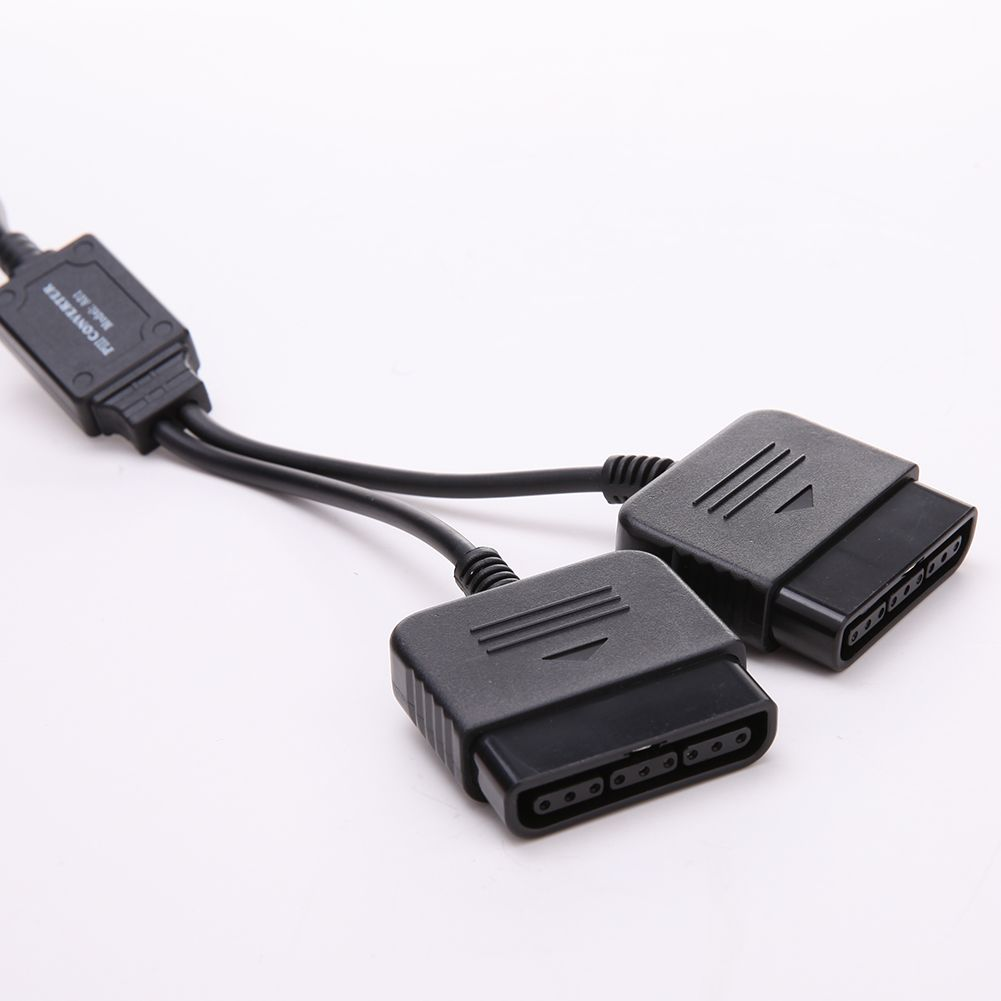 New 2 In 1 Dual Usb Ports Ps1 Ps2 To 20 Controller Adapter Wiring Diagram On For Converter
