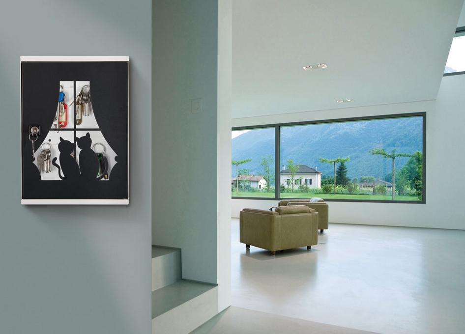 Arredamento Romantico ~ Un romantico portachiavi da parete per il vostro ingresso! #casa