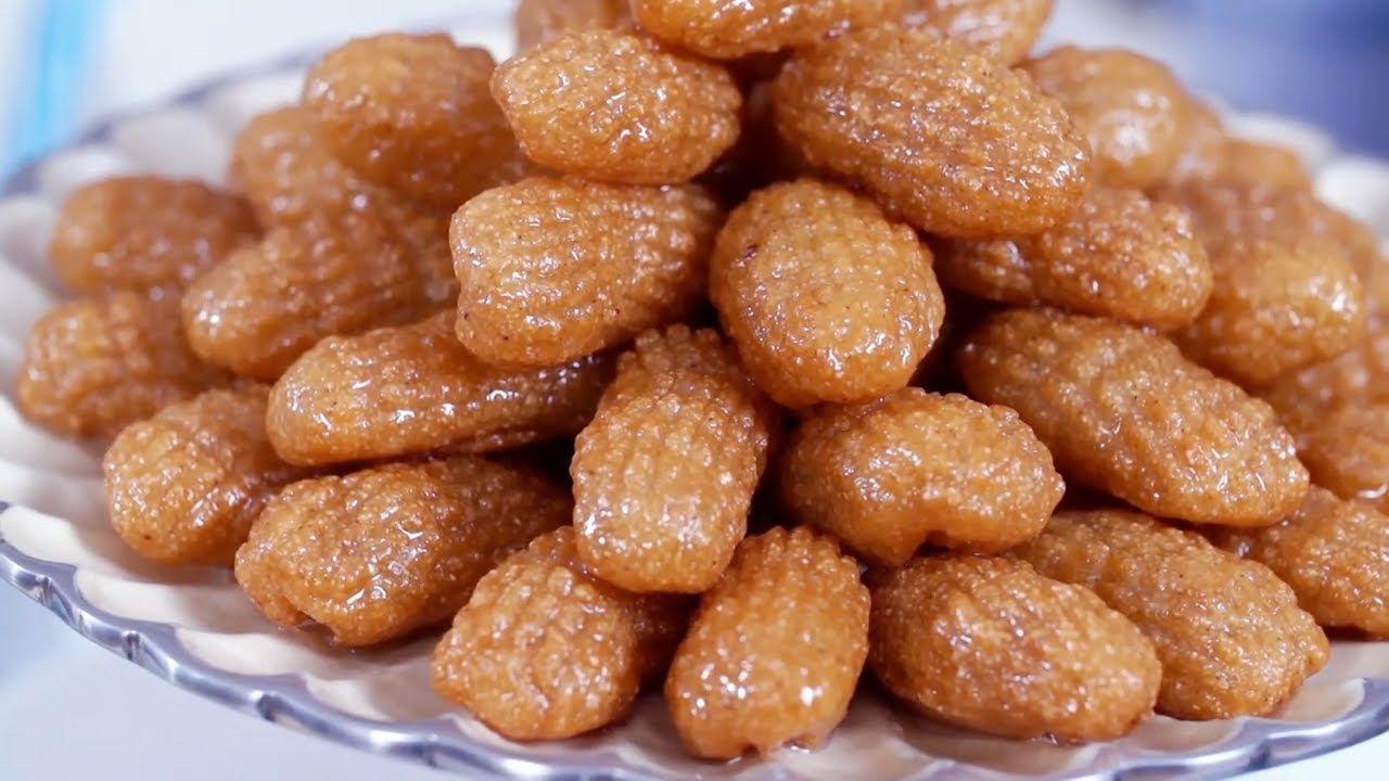 اصابع زينب بأسرار تشكيلها ولونها الذهبي وقرمشتها مثل اشهر محلات الحلويات Food Almond
