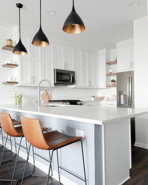 Agnes Small Pendant in 2020   Small condo kitchen, Small ...