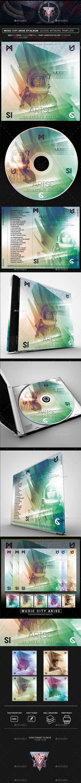 music city arise photoshop cd dvd template cd dvd artwork