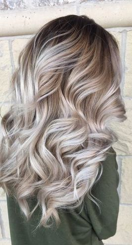 Ash Blonde Love This Color Ombre Hair Blonde Hair Styles Hair Color Balayage