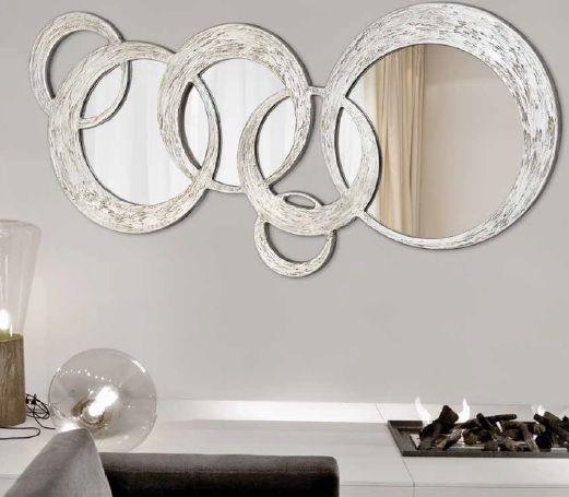 Consejos para decorar con espejos cnc mosaics and house for Espejos redondos para decorar