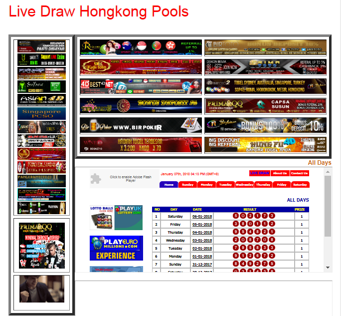Live draw hk malam ini tercepat