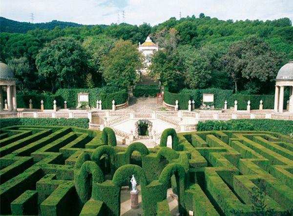 Labyrinth Gardens Barcelona Garden Ftempo