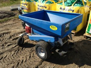 Soil3 Compost Spreader The Easy Way To Compost Topdress All Lawns For Organic Lawn Care Organic Lawn Organic Lawn Care Organic Compost