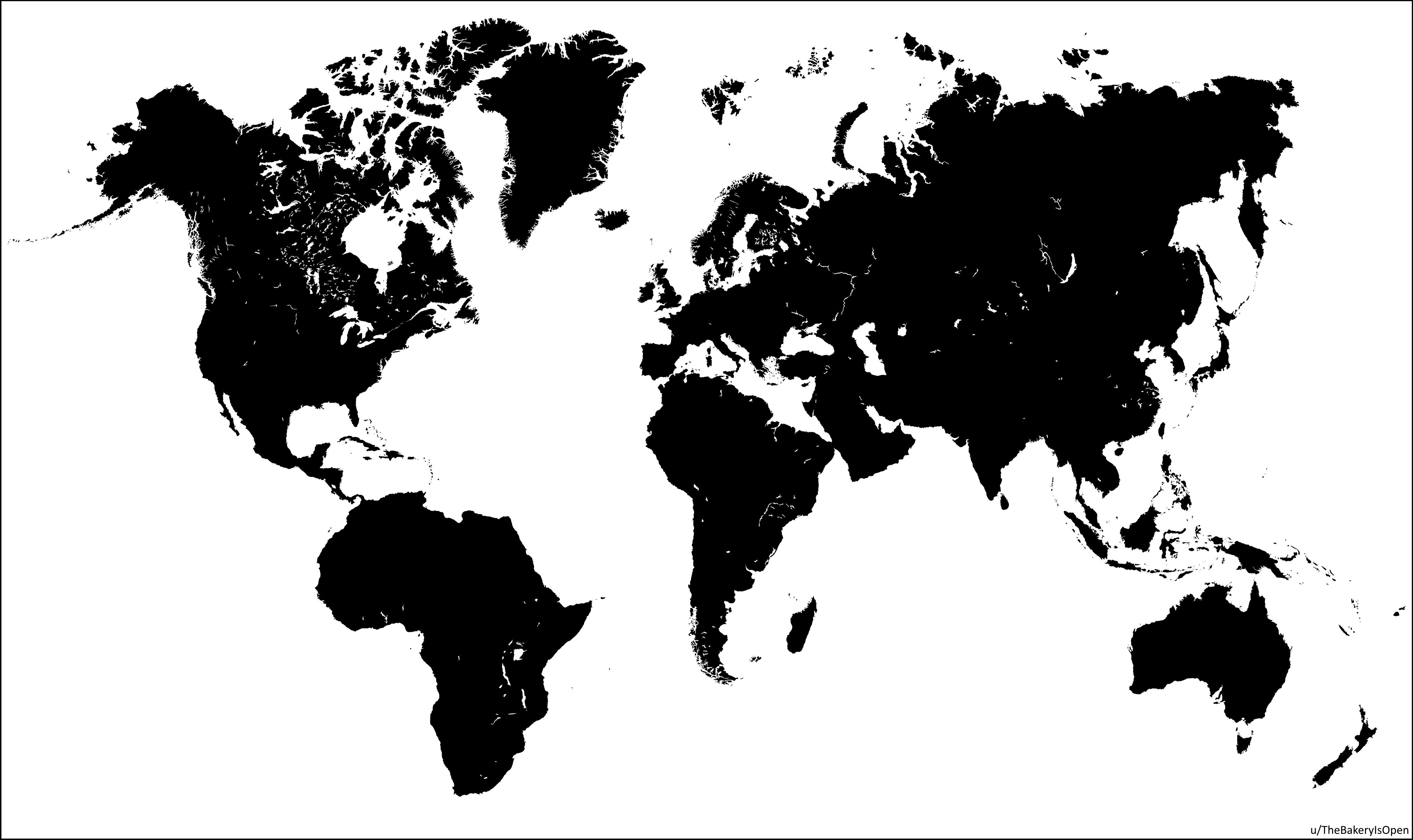 The world map but africa and south america trade places maps the world map but africa and south america trade places gumiabroncs Images
